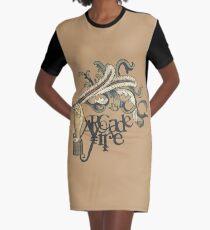 Arcade Fire Graphic T-Shirt Dress