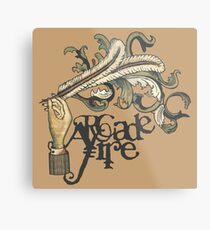 Arcade Fire Metal Print