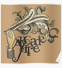Arcade-Feuer Poster