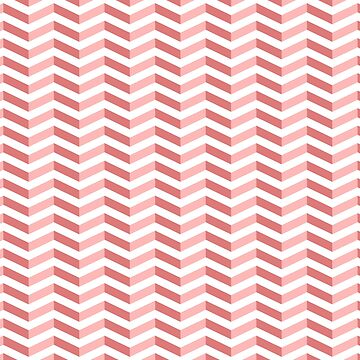 """Red """"3D"""" Zigzag Stripes by Pencil-Princess"""