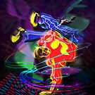 HipHop Dancer 01 by Daniel H Chui