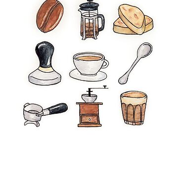 Coffee Obsession by amylewisartist