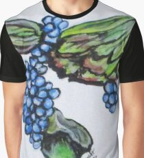 Vine Grapes Graphic T-Shirt