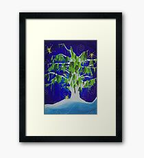 The Willow's Lullaby Framed Print