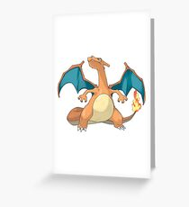 Pokémon Charizard #006 Greeting Card