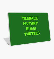 Teenage Mutant Ninja Turtles Words Laptop Skin