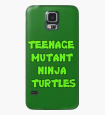 Teenage Mutant Ninja Turtles Words Case/Skin for Samsung Galaxy