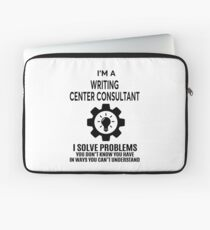 WRITING CENTER CONSULTANT - NICE DESIGN 2017 Laptop Sleeve