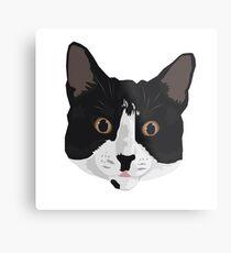 Tuxedo Cat Metal Print