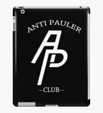 Anti Pauler Club (White) iPad Case/Skin