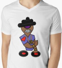 DJ Campop Men's V-Neck T-Shirt