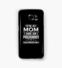 Programming Mom Shirt Samsung Galaxy Case/Skin