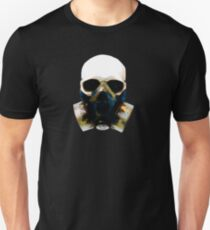 Gas Mask Skull Doomsday Apocalypse tee T-Shirt
