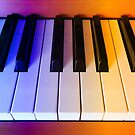 Rainbow Piano Keys by BlueMoonRose