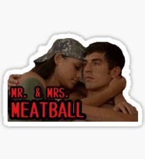 BB19 - Mr. & Mrs. Meatball Sticker