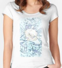 Winter Rose Women's Fitted Scoop T-Shirt