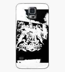 God Save the Queen. ER Crest- Transparent Case/Skin for Samsung Galaxy