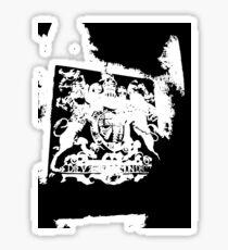 God Save the Queen. ER Crest- Transparent Sticker