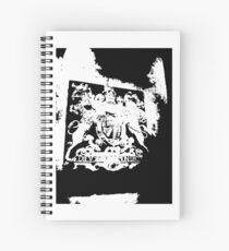 God Save the Queen. ER Crest- Transparent Spiral Notebook