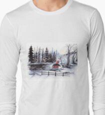 Reds Wolf Long Sleeve T-Shirt