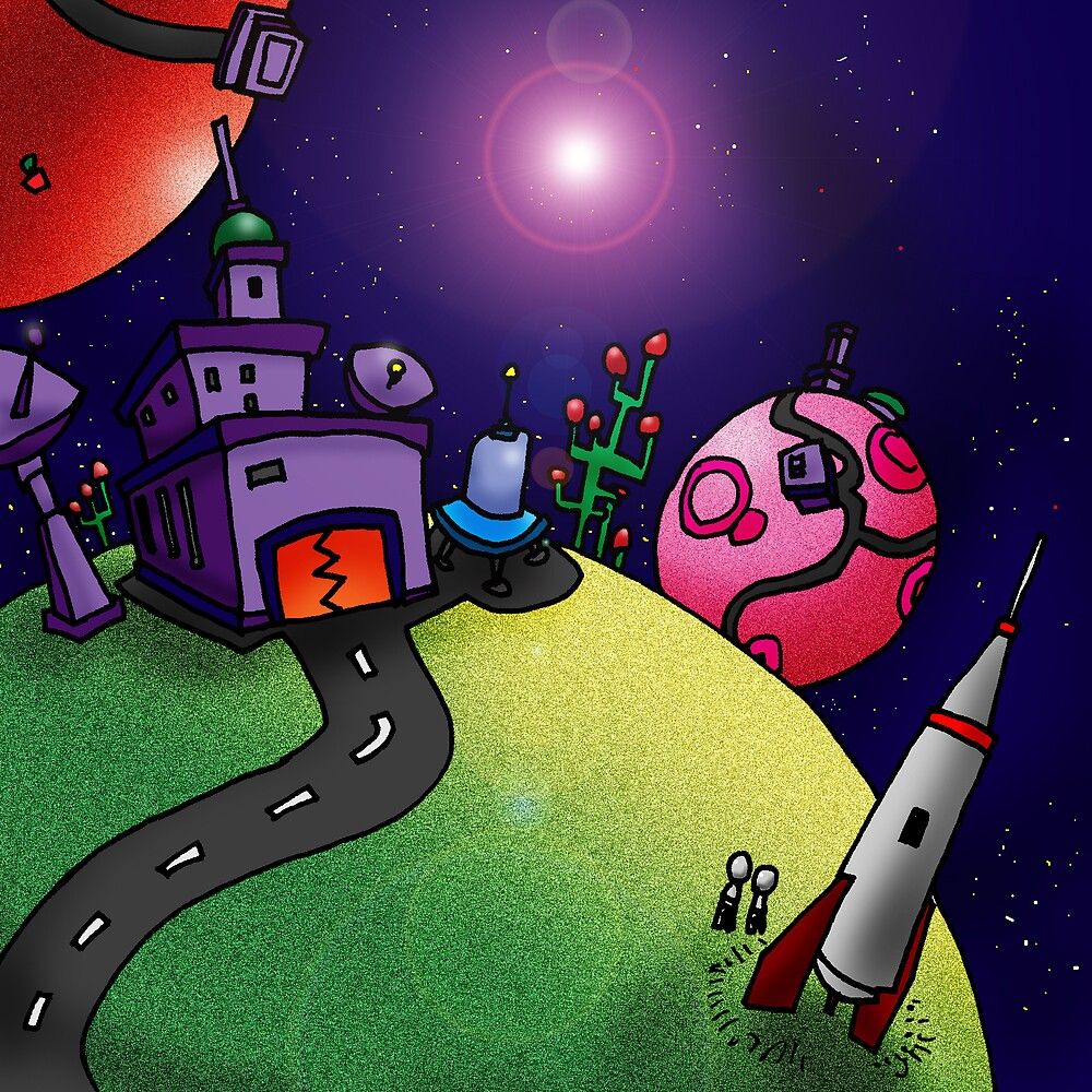 Spaceman's Holiday by Edwin Marney