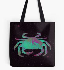 Starry Cancer Crab Tote Bag