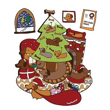 Have a weiner christmas! by littleredcheeks