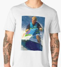 JD on a Jet Ski Men's Premium T-Shirt