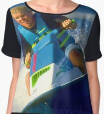 JD on a Jet Ski Women's Chiffon Top