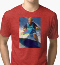 JD on a Jet Ski Tri-blend T-Shirt