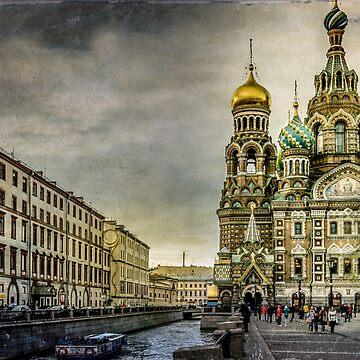 Church of  Savior on Spilled Blood ,Saint-Petersburg by LudaNayvelt