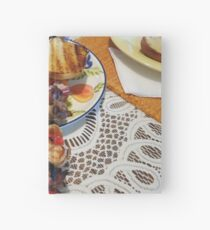 Chicken and Shrimp Kabobs Hardcover Journal
