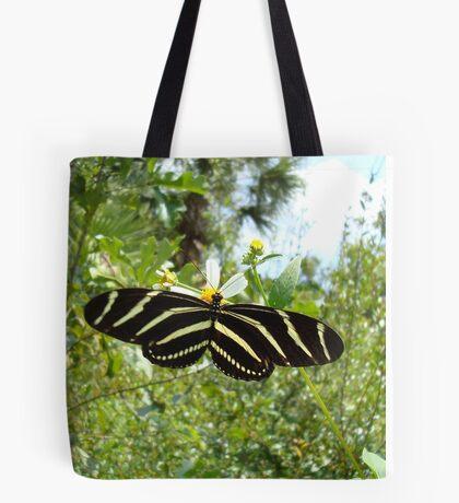 ZEBRA LONGWING Tote Bag