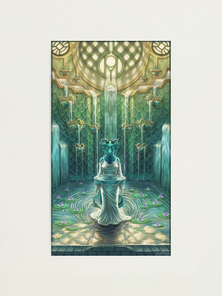 Alternate view of Elemental Temple - Water Photographic Print