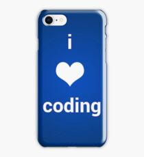 coding sticker iPhone Case/Skin