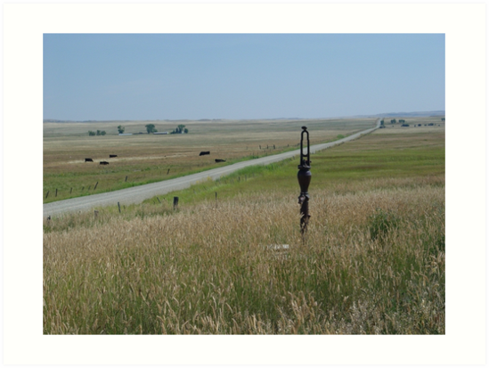 Little Pump on the Prairie by May Lattanzio