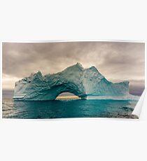 Iceberg in Disko bay Poster