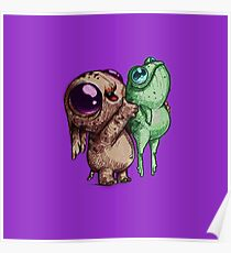 Cute little critters Poster
