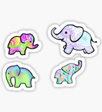 Elephant Madness Sticker