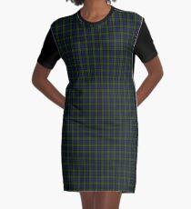 Blackwatch Tartan Graphic T-Shirt Dress