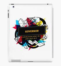 GOVERNOR iPad Case/Skin