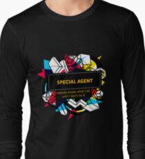SPECIAL AGENT Long Sleeve T-Shirt