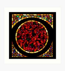 Stained Glass - 1 Art Print