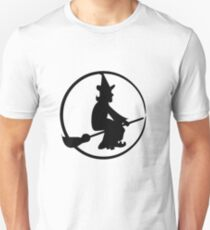 Witch On A Broomstick T-Shirt