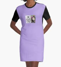 Be a Pirate Graphic T-Shirt Dress