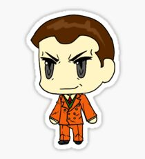 Giovanni Anime outfit Sticker