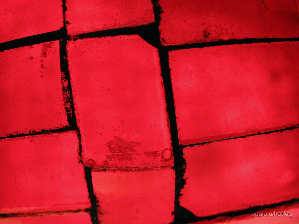 red glass by paula whatley