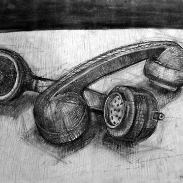 Homo-Erotic Phones (Still Life). by RichMcLean