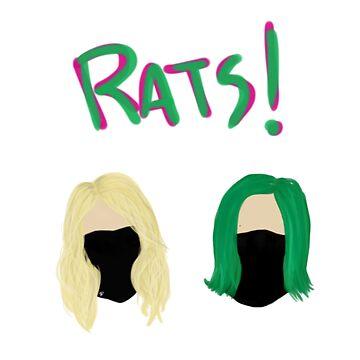 Gosh Darn! Rats! by SofiaColfer