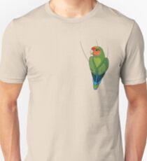 Peach-faced Lovebird Unisex T-Shirt
